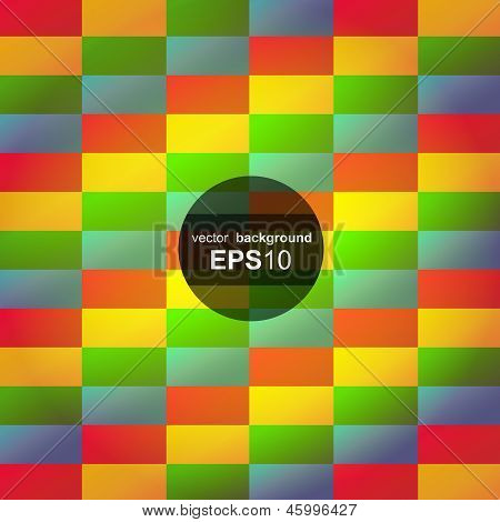 Abstract geometric colorful seamless background