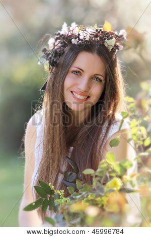 Smiling Spring Nymph