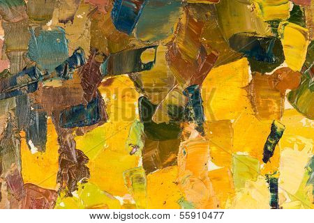 poster of Abstract colorful background oil painting on canvas.