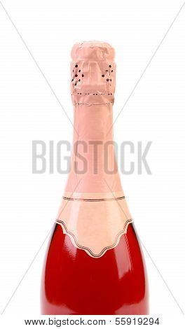 Top bottle of champange.