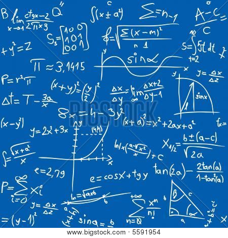 Blue Math seamless