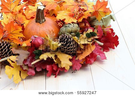 Fall Season Decoration For Thanksgiving Or Halloween