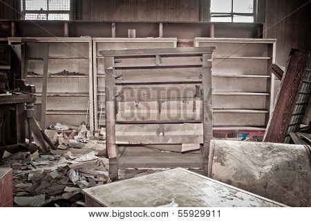 A Room With Trashed Furniture