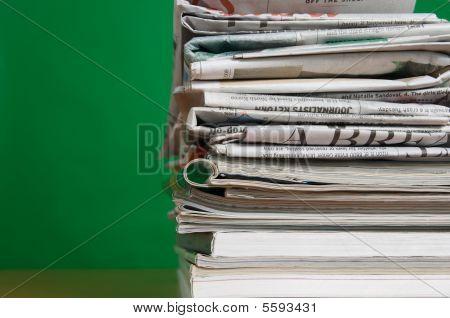 Magazine And Newspaper