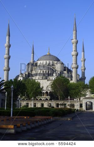 A View Of The Blue Mosque