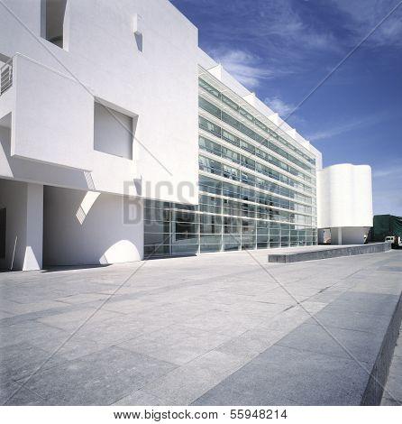 Macba Museum. Barcelona.Spain.