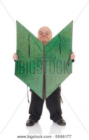 Dwarf, Little Man Waiter