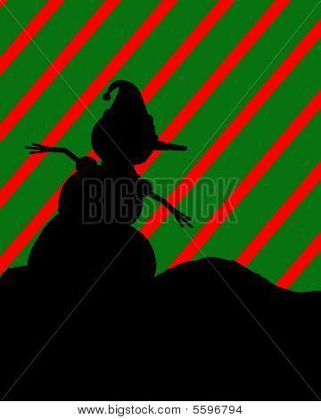 Christmas Silhouette Illustration