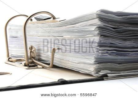 Folder In An Office