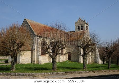The Old Church Of Wy Dit Joli Village