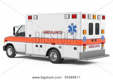 Ambulance car back