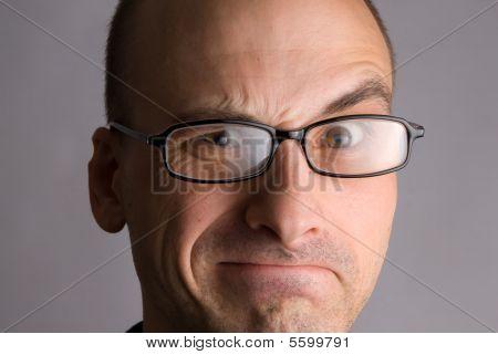 Man Expressive Portrait
