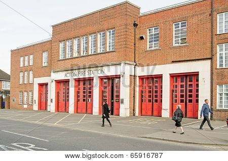 Acton Fire Station, London
