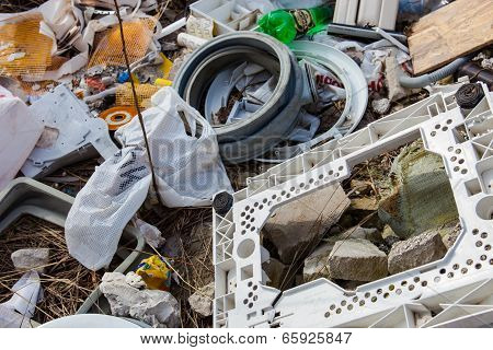 Garbage On The Landfill