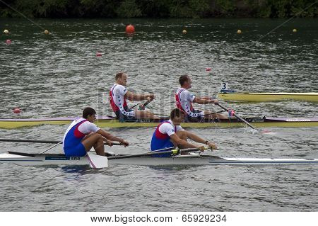 Meadlists In Men's Pair, European Rowing Chamionships 2014