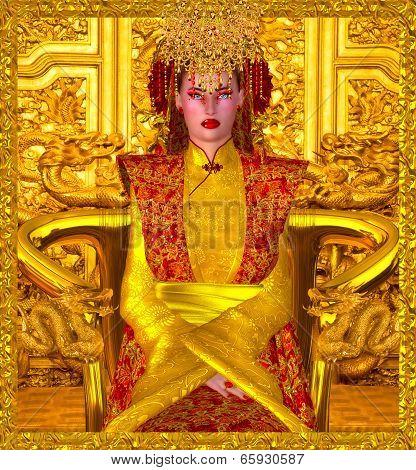 The Golden Queen Of Shanghai.