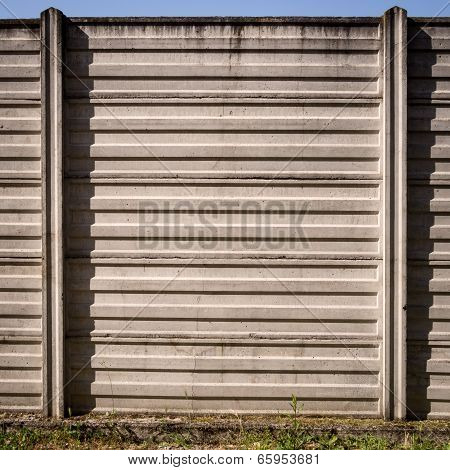 concrete wall of industrial background