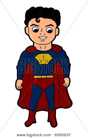 Superguy cartoon