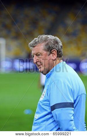 Manager Roy Hodgson Of England
