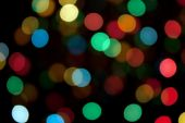 Defocused bright light color abstract pattern background poster