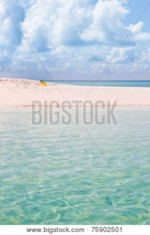 Indian ocean at Maldives, Kuramathi