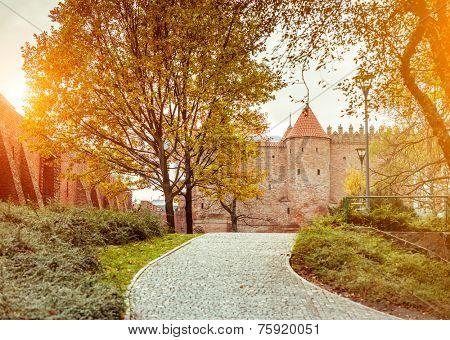 Warsaw Barbican. Poland