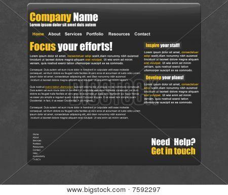 Tech Website or Blog Template