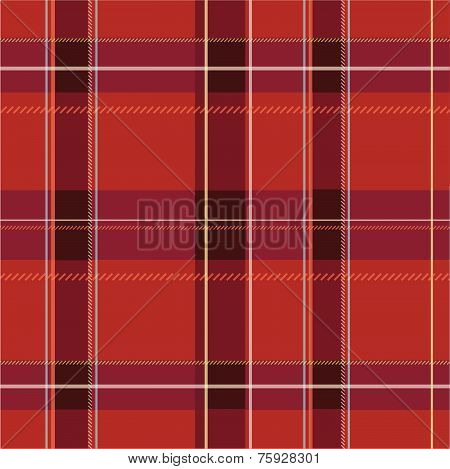 Plaid Pattern Illustration