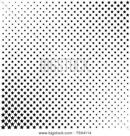 Gray Halftone Dots