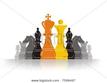 Chess Pawn Leader