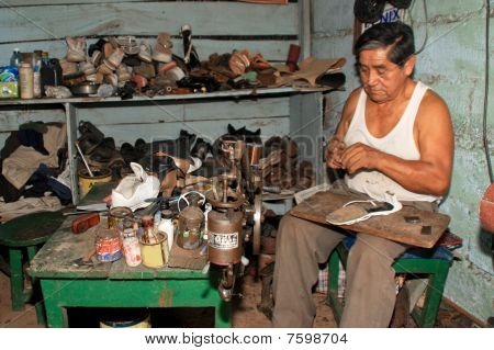 Shoemaker in South America