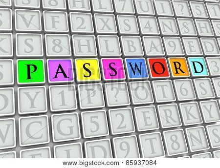 Password Tiles