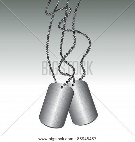 Soldier Identity Tag