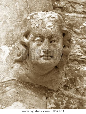Carved Head 1