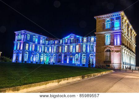 Palais Du Pharo In Marseilles