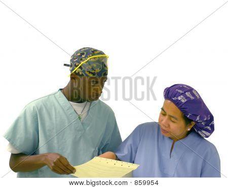 Young Diverse Nurses