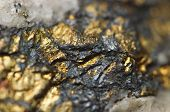Chalcopyrite It has the chemical formula CuFeS2 Copper iron sulfide mineral poster