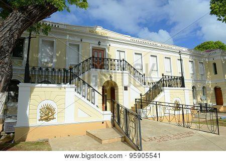 Legislature Building of U.S. Virgin Islands, Charlotte Amalie