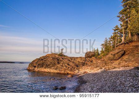 Wild Lake Superior Shore