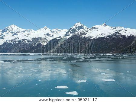 Icebergs in Alaska's Glacier Bay