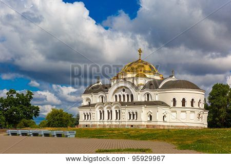 Garrison church in Brest fortress, Belarus