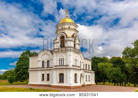Bell tower of Brest Fortress, Belarus