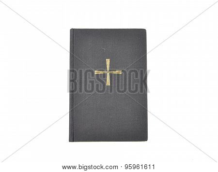 Prayer Book On White