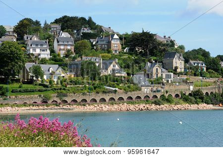 France, The City Of Perros Guirec