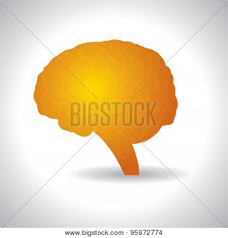 Abstract brain or mind symbol