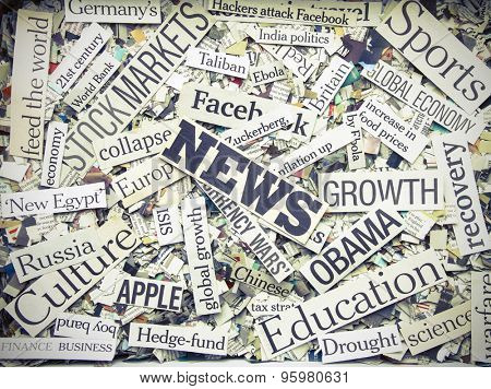 the News (Newspaper concept )
