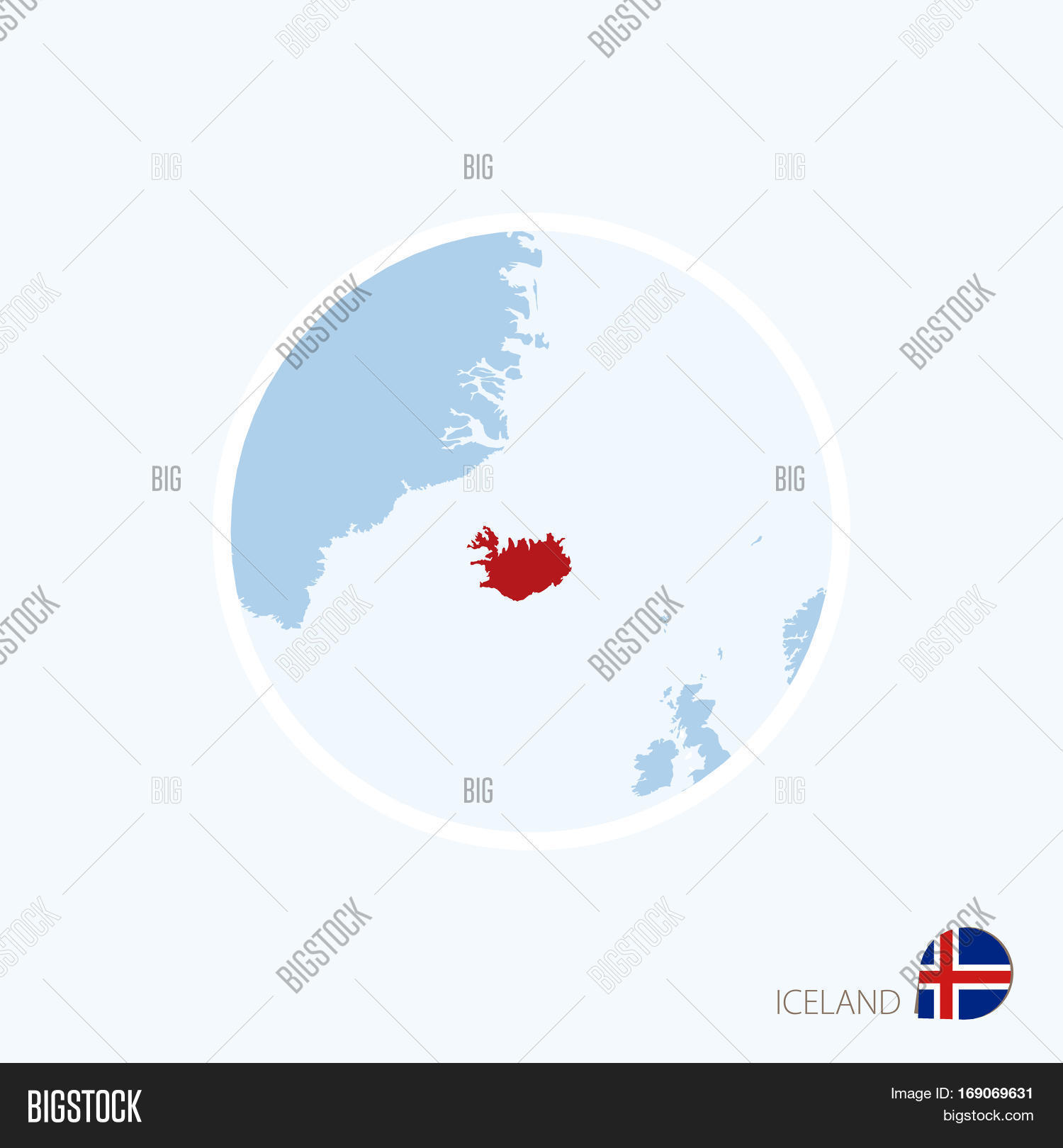 Map icon iceland vector photo free trial bigstock map icon of iceland blue map of europe with highlighted iceland in red color gumiabroncs Choice Image