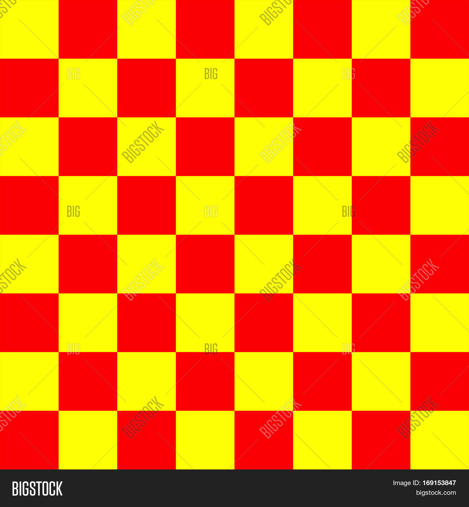 Red And Yellow Chess Board 8 By Grid High Resolution Background Repeatable