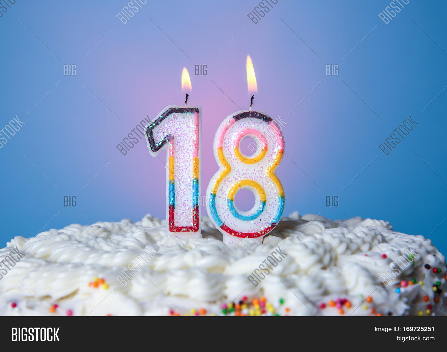 Tasty Cake Candles Image Photo Free Trial Bigstock