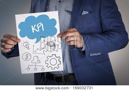 Technology, Internet, Business And Marketing. Business Analysis Concept.kpi